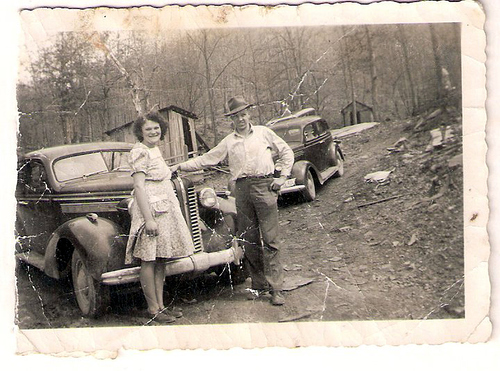 107-Gordon C  Moffett and Mamaw Aree