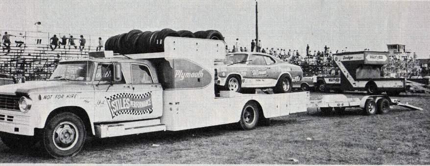 Photo Bill Stiles Duster Ramp Truck Hauler Jpg Dodge