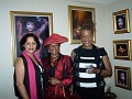 Rachel ,Wonderful Phillis Baker with the red hat is a Teacher in Psychology @ Miami Dade  College and her friend Ms Babacar M'Bow