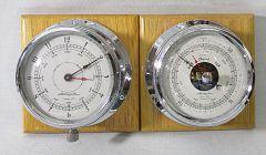 Airguide-Barometer-Clock-