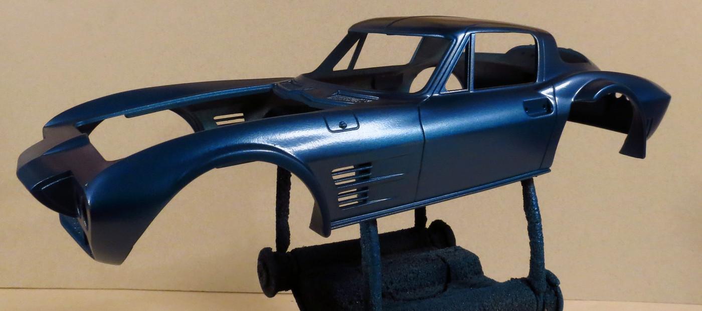 758 Corvette GS paint