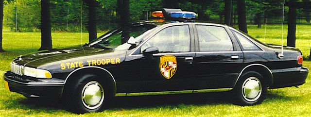 MD - Maryland State Police 1994