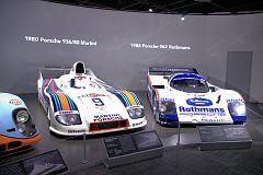 00D Porsche Race Cars 1980 Porsche 936 Martini 1986 Porsche 962 Rothmans DSC 5914 -1