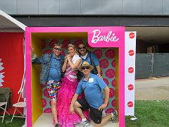 Three Amigos & Barbie1