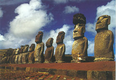 Easter Island - MOAIS NS