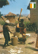 Cote D'Ivore - Traditional Family PE