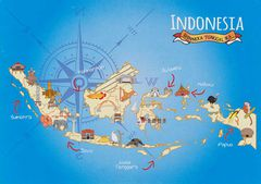 00- Map of Indonesia