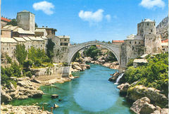 Bosnia - Jumping from Mostar Bridge NF