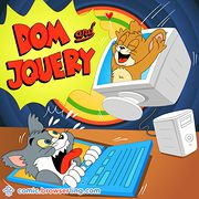 Tom and Jerry - Weekly comic about web developers, software and browsers