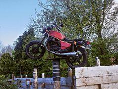 Motorbike-Camping