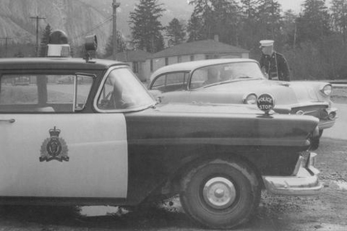 Canada- Royal Canadian Mounted Police 1957 Ford