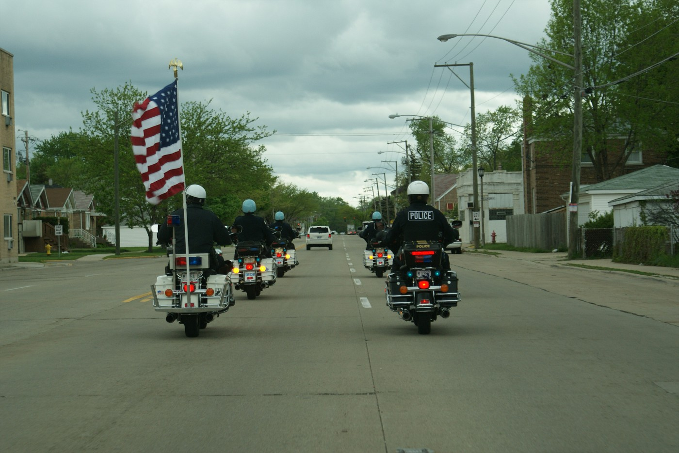 May 9th, Cook County, IL Police Memorial cermony