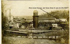 See how close the Mill was to the Ova Lowe house?