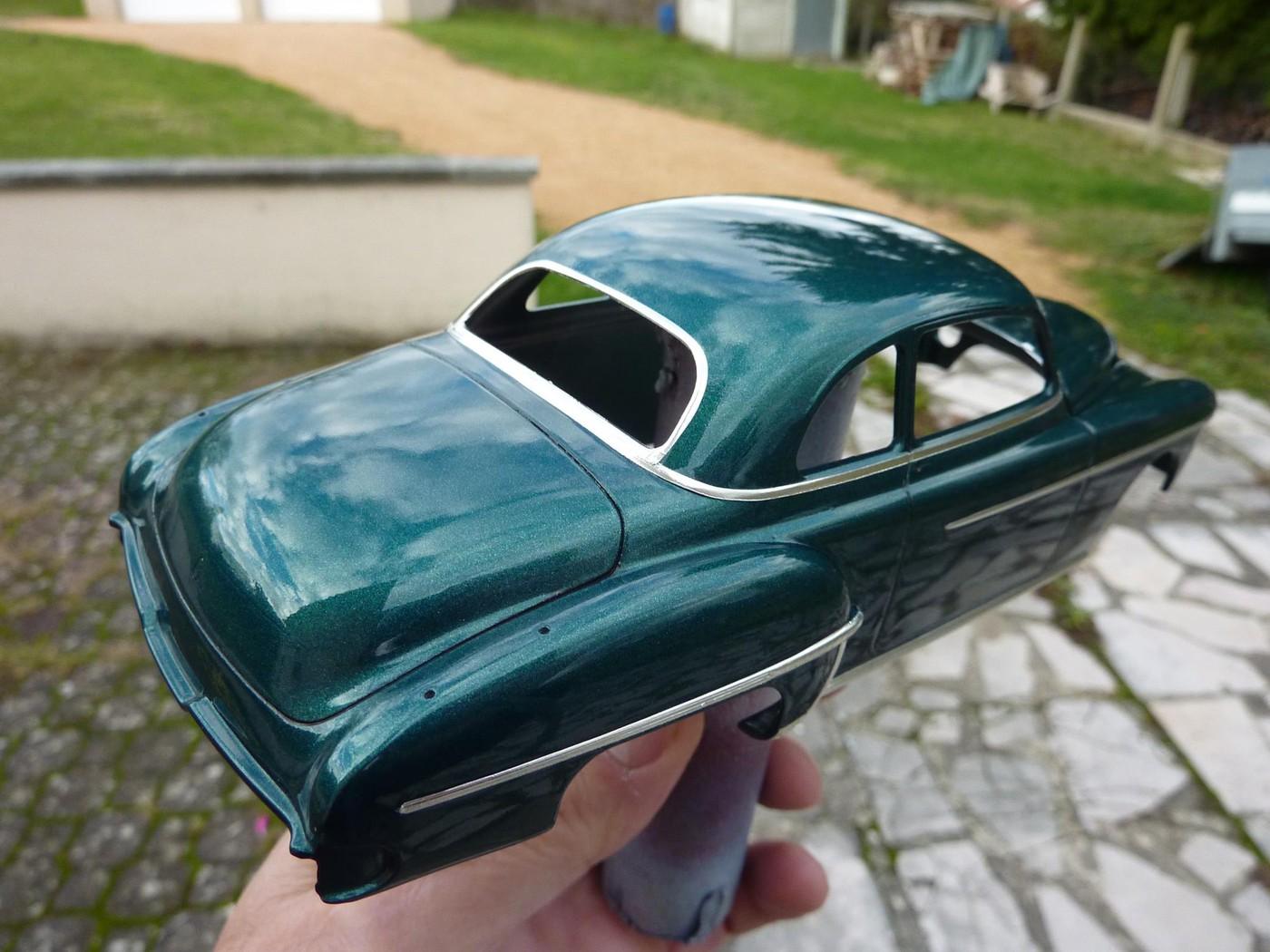 Projet Oldsmobile 50 avec remorque assortie terminé Photo2-vi