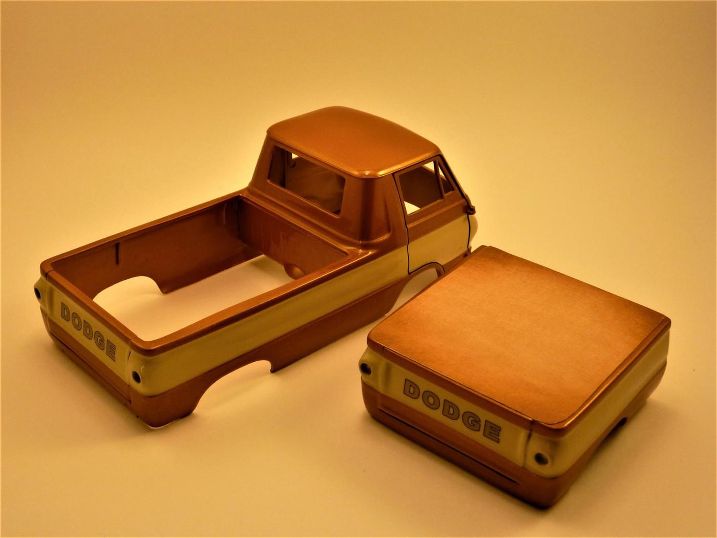 Dodge A 100 pickup avec remorque terminé Photo3-vi