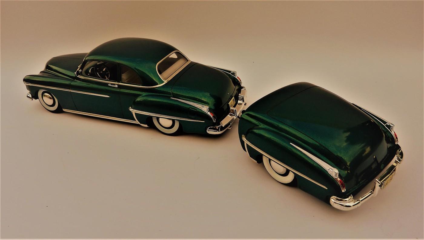 Projet Oldsmobile 50 avec remorque assortie terminé Photo29-vi