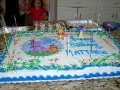 Very large cake for the party
