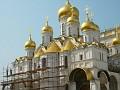 Moscow, Kremlin - restoration work