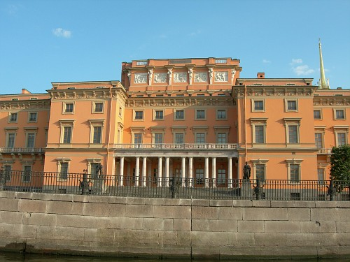 Saint Petersburg - Another palace on the boat trip