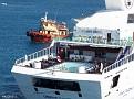 ORIENT QUEEN II arriving Rhodes 20120718 035
