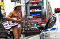 NAKED COWBOY ON   THE TIMES SQUARE