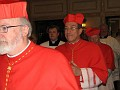 Procession of Cardinals - Ordination was attended by five Cardinals
