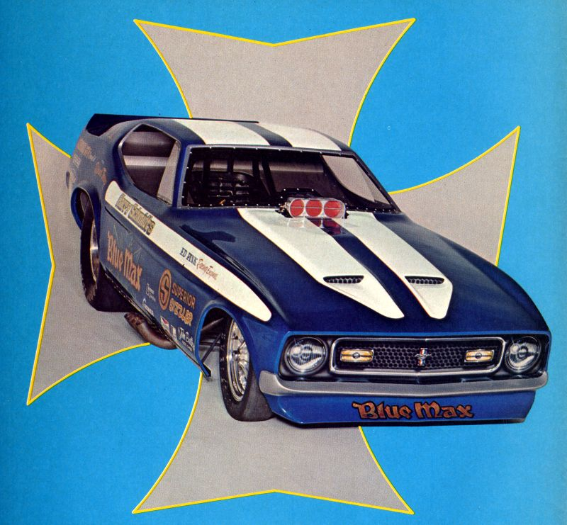 Related Pictures blue max mustang funny car blue max 1 25 fs
