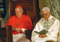 Sansaricq with Cardinal Egan