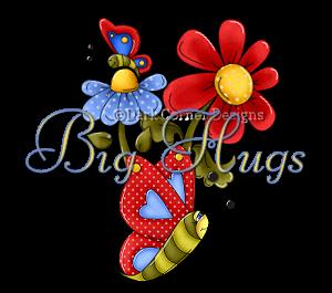 dcd-Big Hugs-Summer Flower