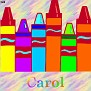 Crayons at schoolCarol