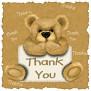 c thankyou bear
