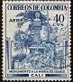 Columbia 1954 40 centavos