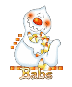 Babs - CandyCornGhost