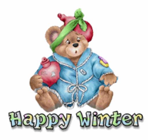Happy Winter - BearGetWellSoon