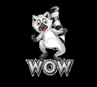 Wow - RaccoonStepOnName