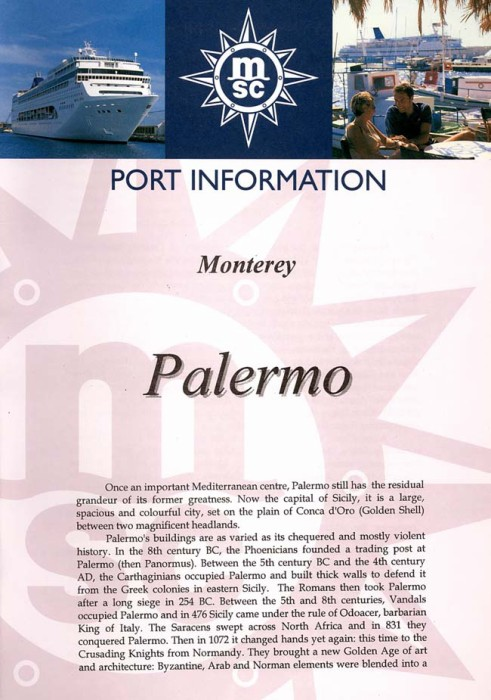 Palermo Port Information Page 1