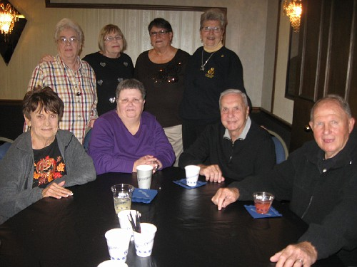Shelvie Nash, Monica Tallent, Otto Horak, Dick Nash, Linda Elking, Mary Decker, Faye Stanek, Fran Staat