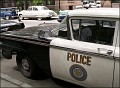 Now here's the police car - notice it says Bedford, CT