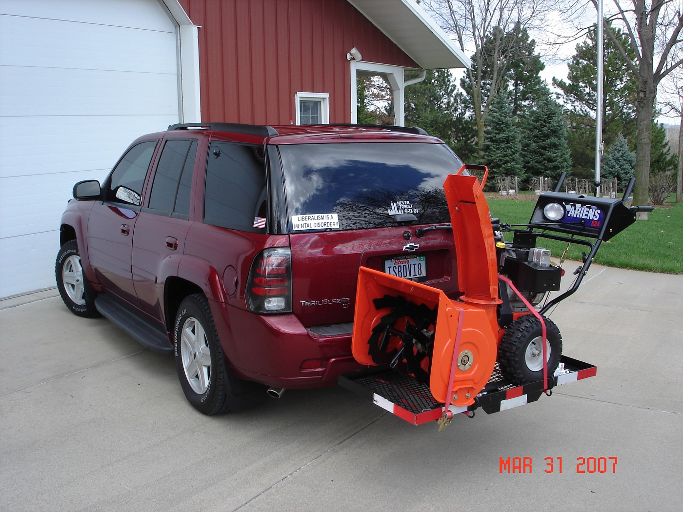 Recommendation Needed For Hitch Mounted Cargo Carrier To
