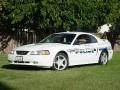 Ripon PD's traffic enforcement Mustang