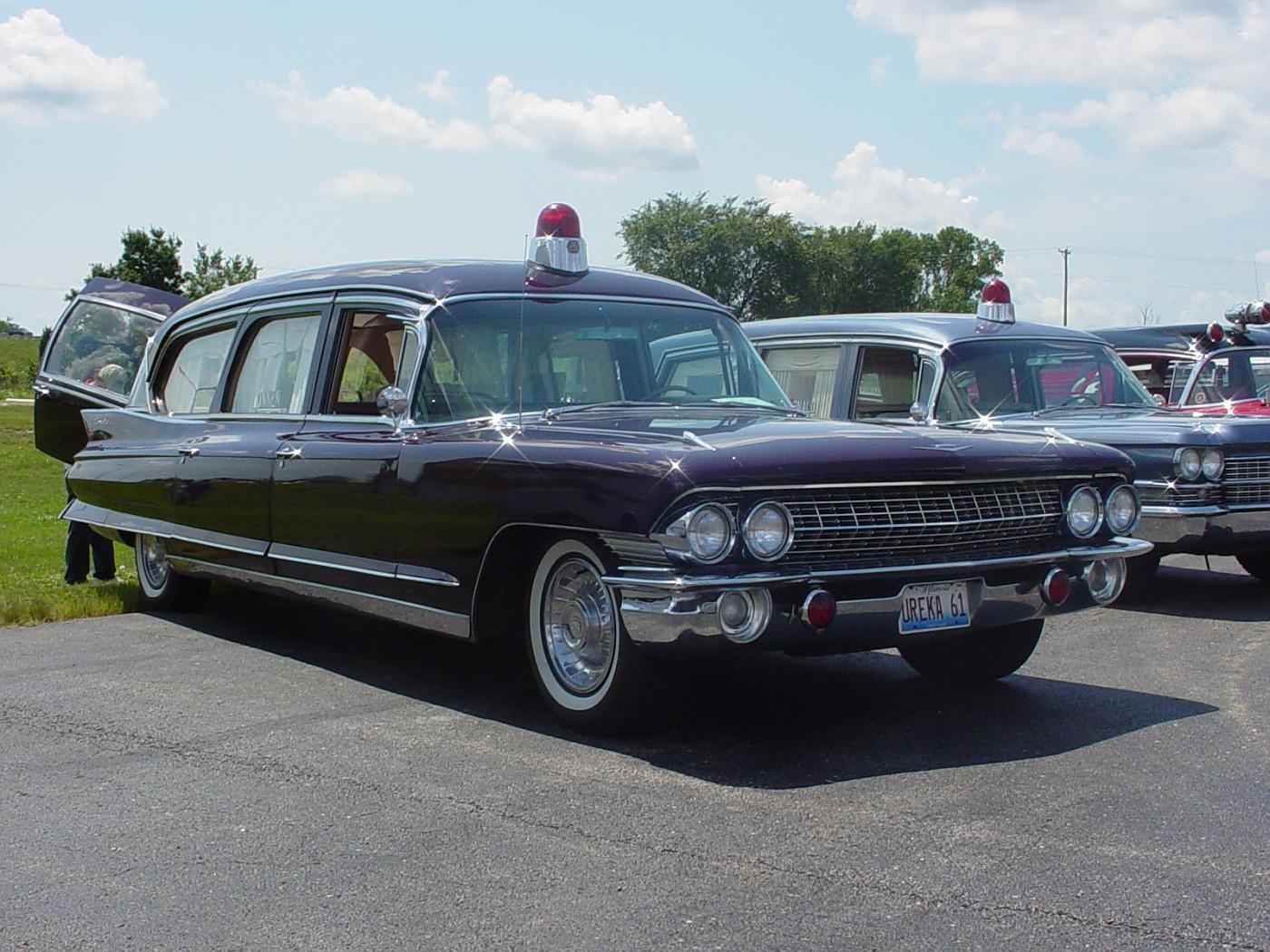 1961 Cadillac Eureka Ambulance