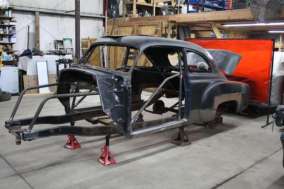 "1951 Chevrolet Gasser! ""SHOP REPORT"" 22/01/2013 Photo1-vi"