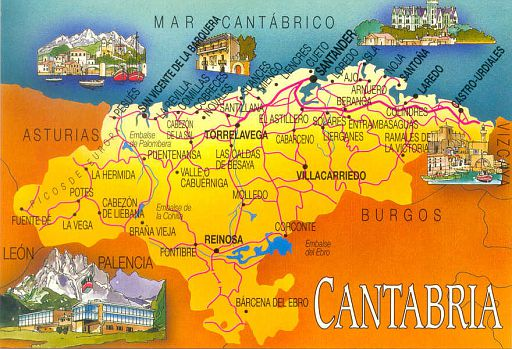 00- Map of Cantabria
