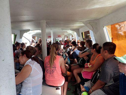 ferry to Caye Caulker