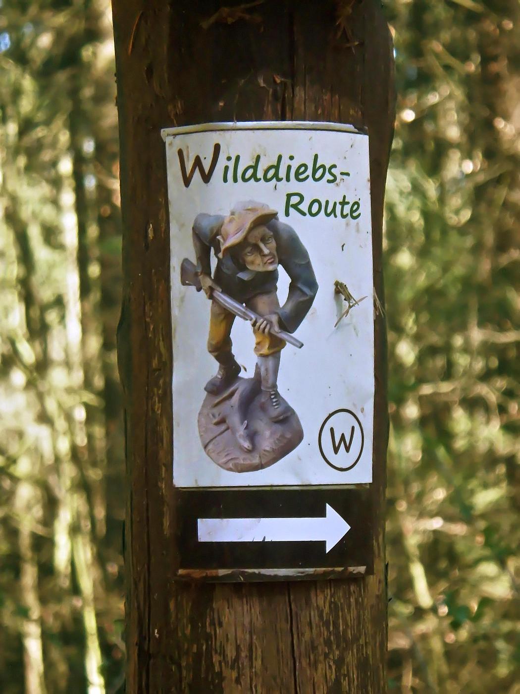 Wilddiebs-Route