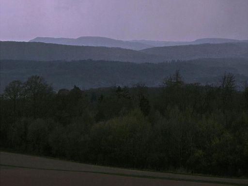 Frühlingsabend im Weserbergland