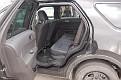 SUV rear door open and interior