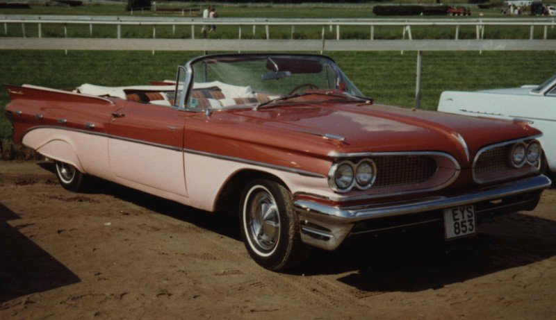 Pontiac Bonneville -59, Wheels Nat´s -88