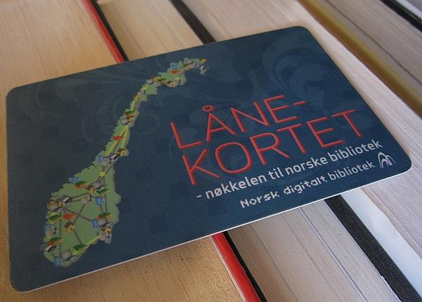 Nasjonalt lånekort, foto: Elin Bekkebråten Sjølie