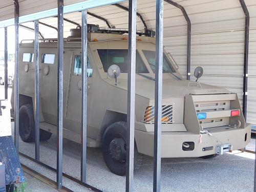 DE - Delaware State Police Lenco SWAT vehicle